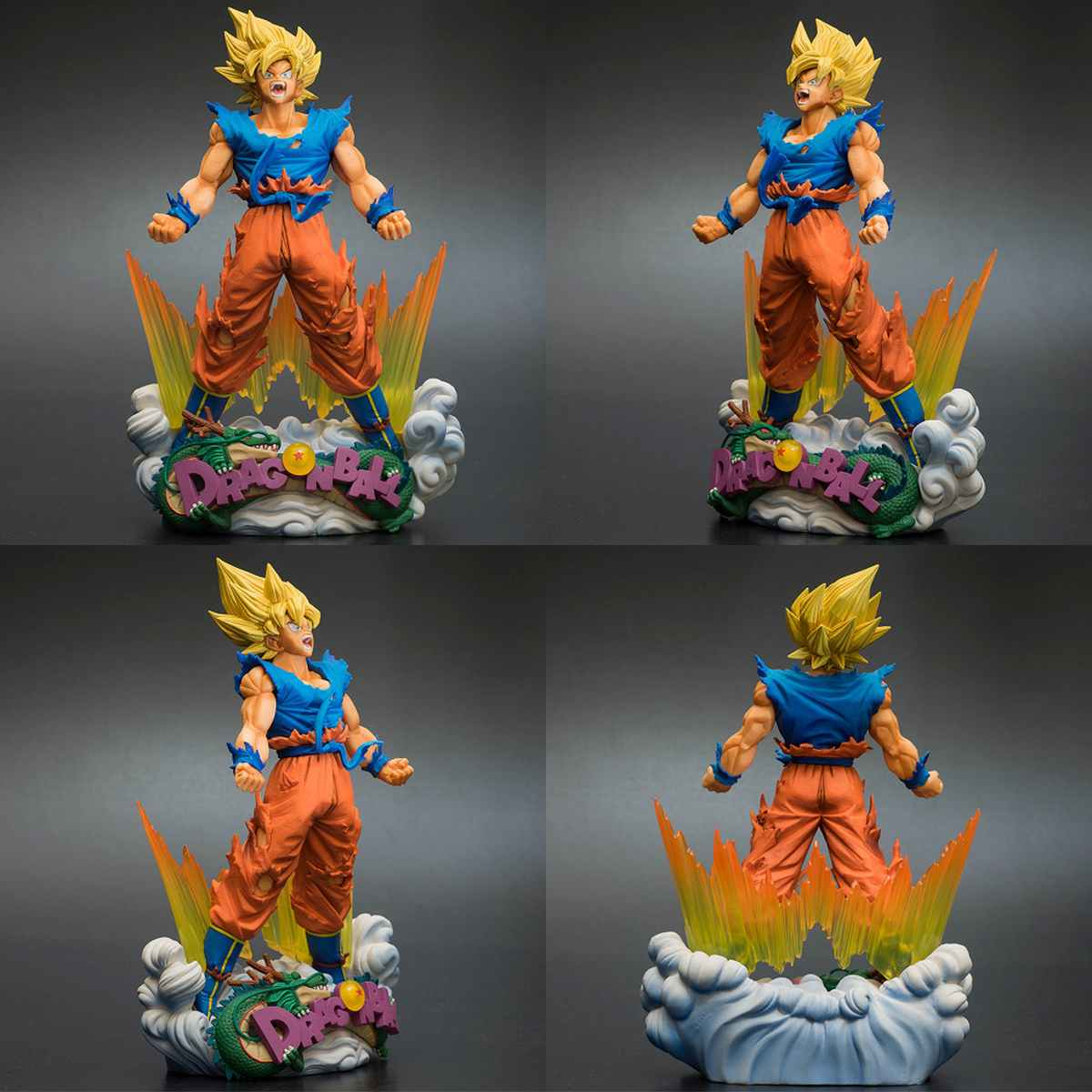 Action Figure Goku Super Master Diorama Dragon Ball Z