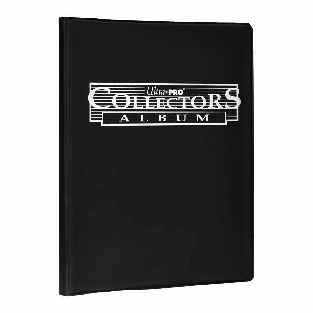 Album Collectors 10 Folhas Com 9 Bolsos Ultra Pro Portfolio