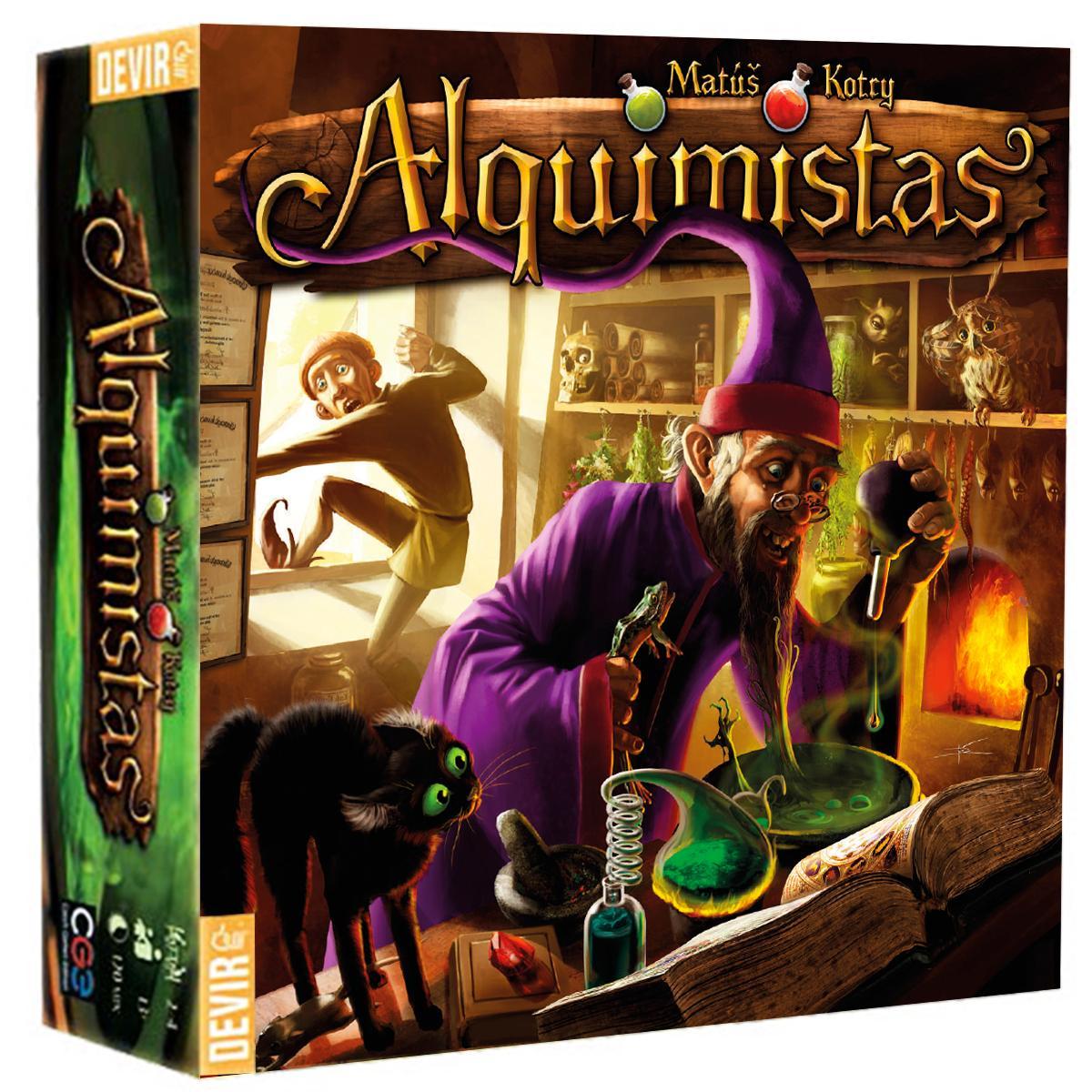Alquimistas Jogo de Tabuleiro Devir