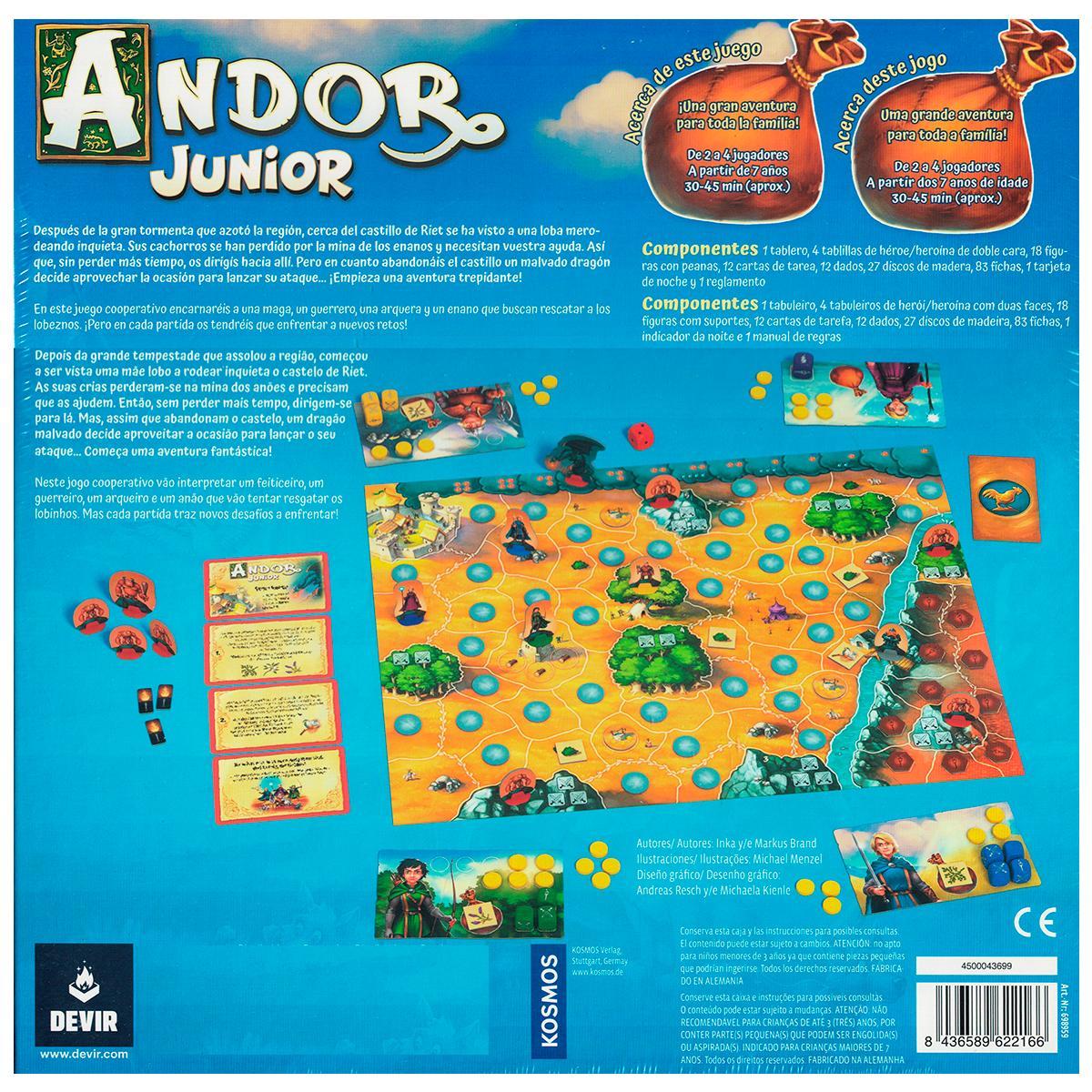 Andor Junior Jogo de Tabuleiro Devir