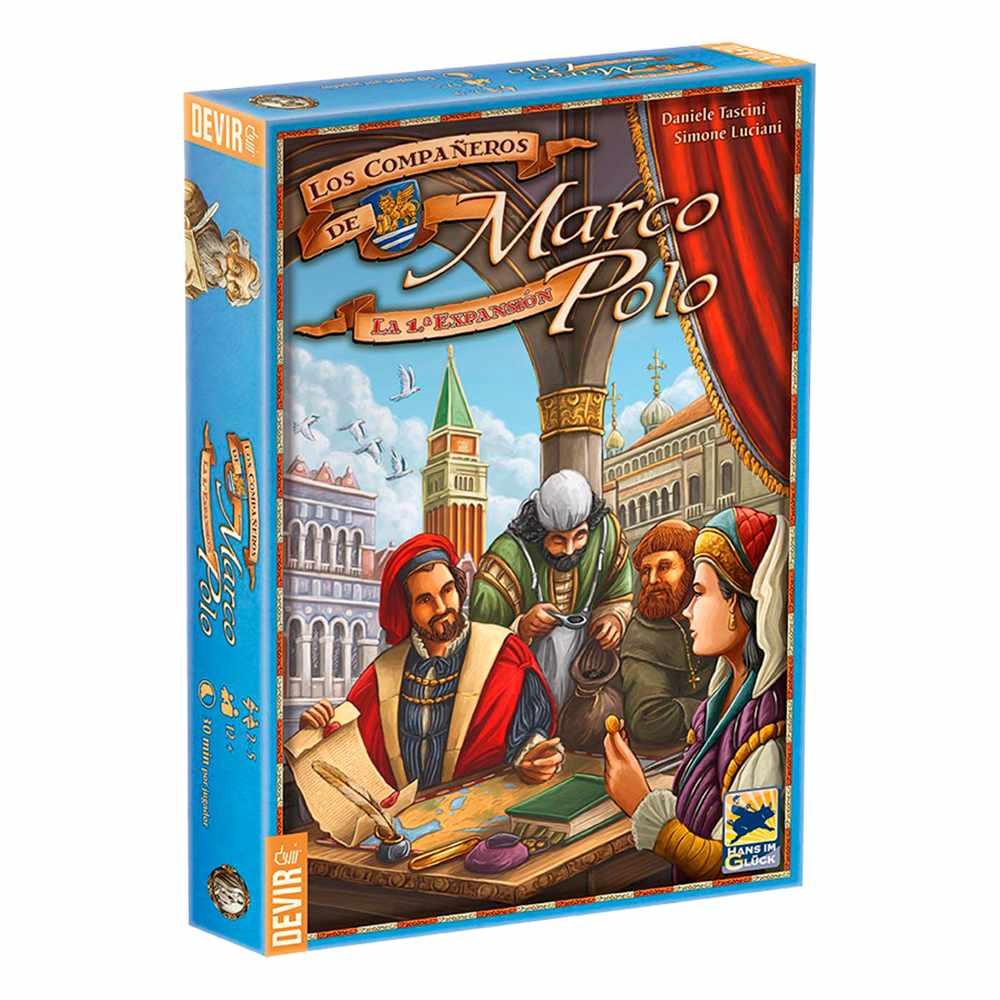 As Viagens de Marco Polo Expansão Os Companheiros de Marco Polo