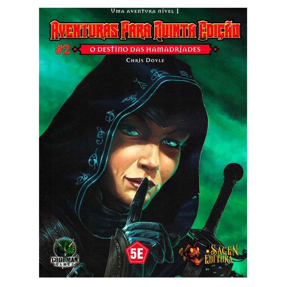 Aventuras para Quinta Edição O Destino das Hamadríades 2 - Dungeons Dragons