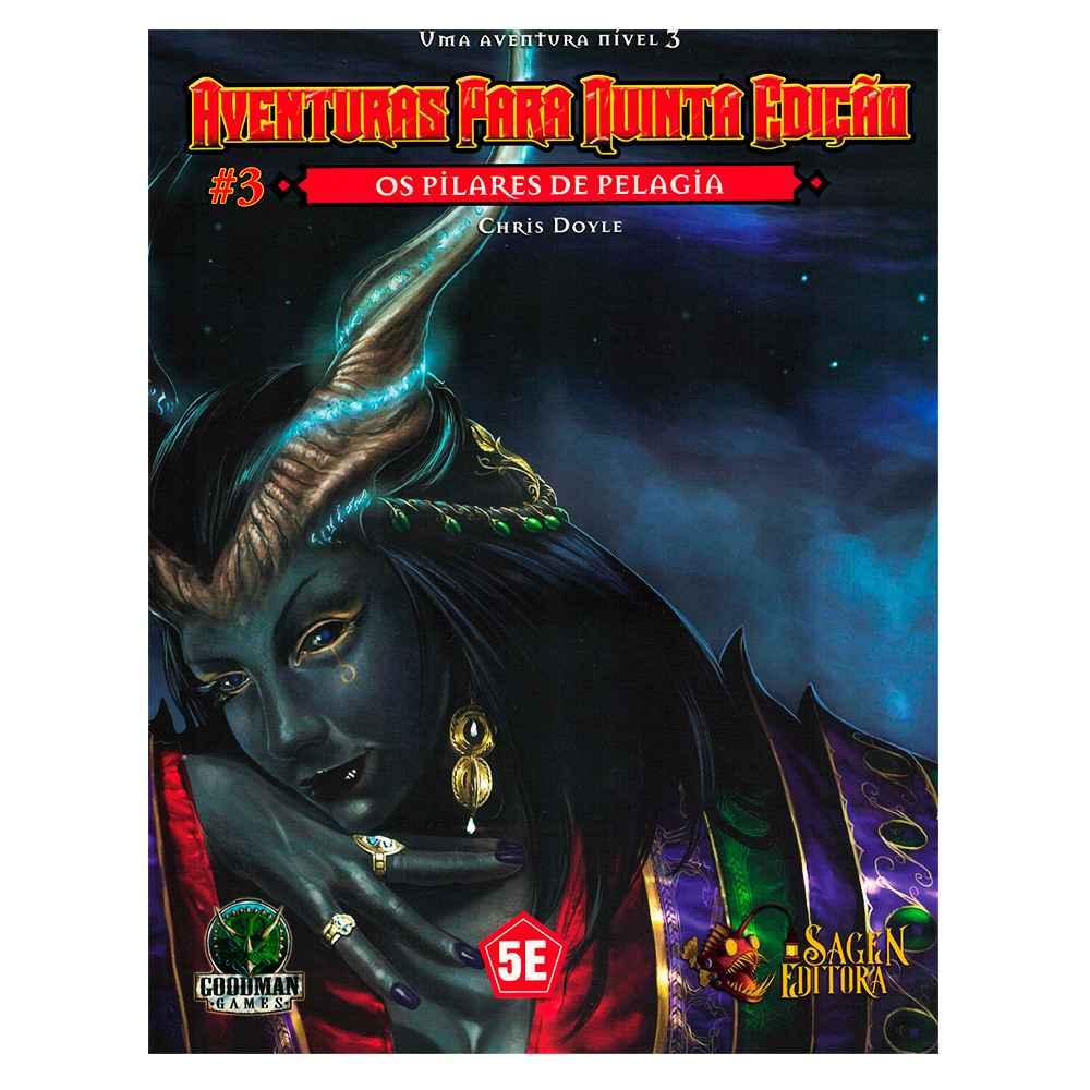 Aventuras para Quinta Edição Os Pilares de Pelagia 3 - Dungeons Dragons