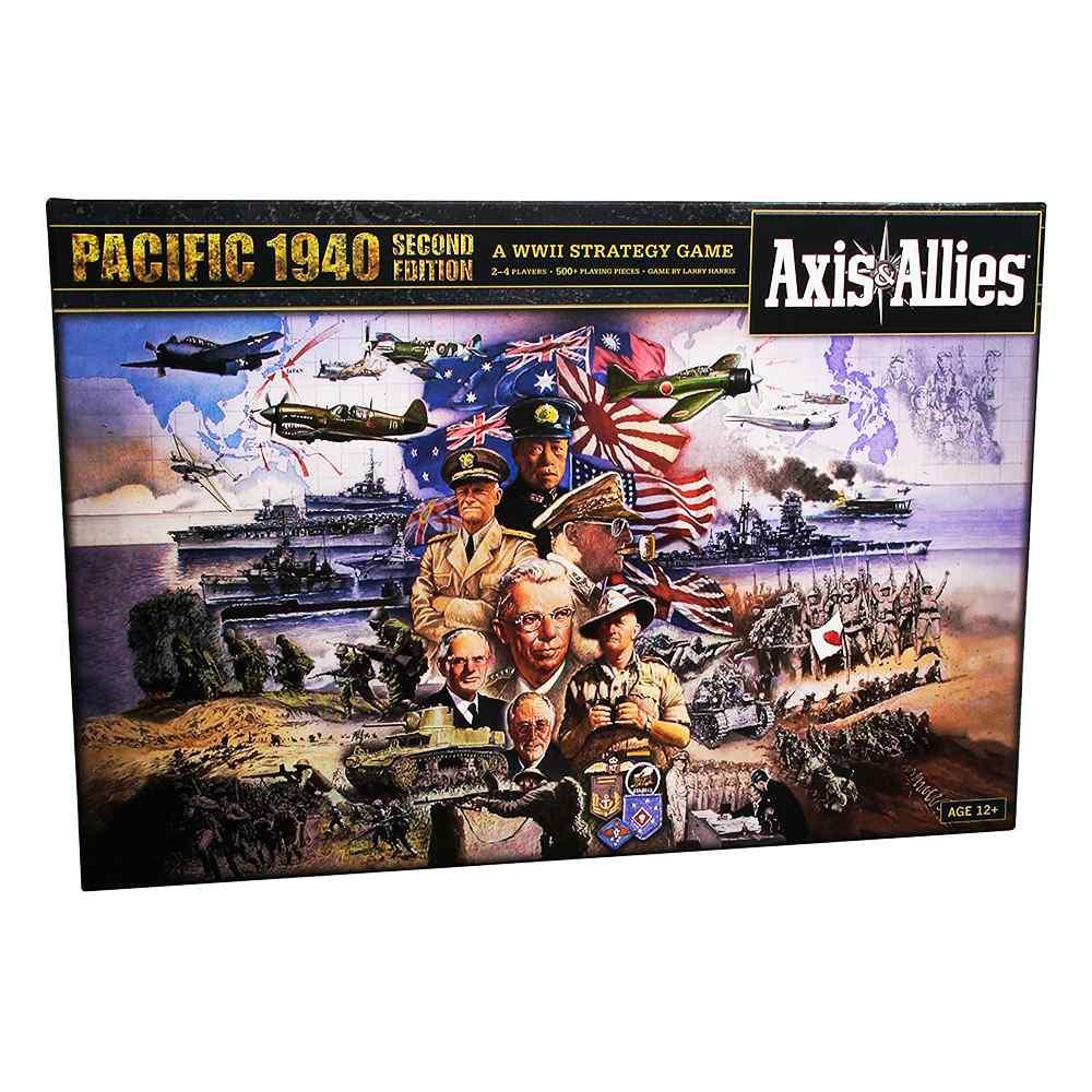 Axis e Allies 1940 Pacific Segunda Edição Jogo de Tabuleiro