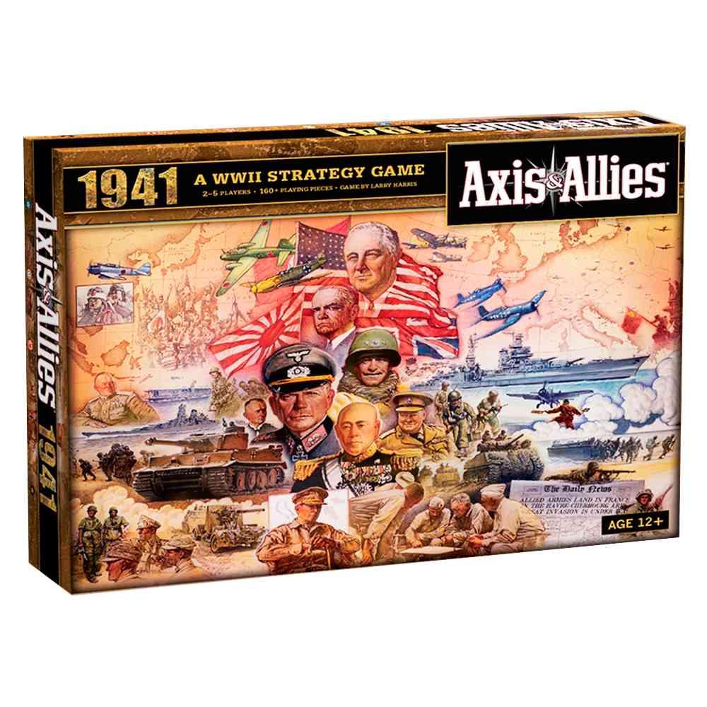 Axis e Allies 1941 Segunda Guerra Mundial Jogo de Tabuleiro