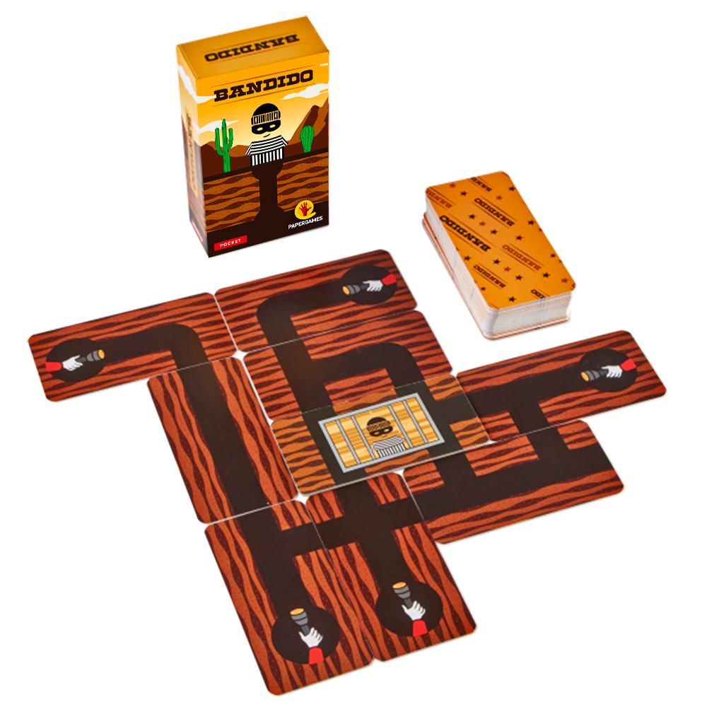 Bandido Jogo de Cartas Paper Games