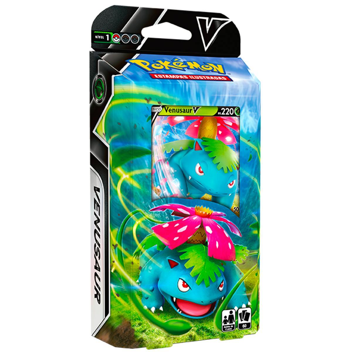 Baralho de Batalha V Deck Pokémon Venunsaur V