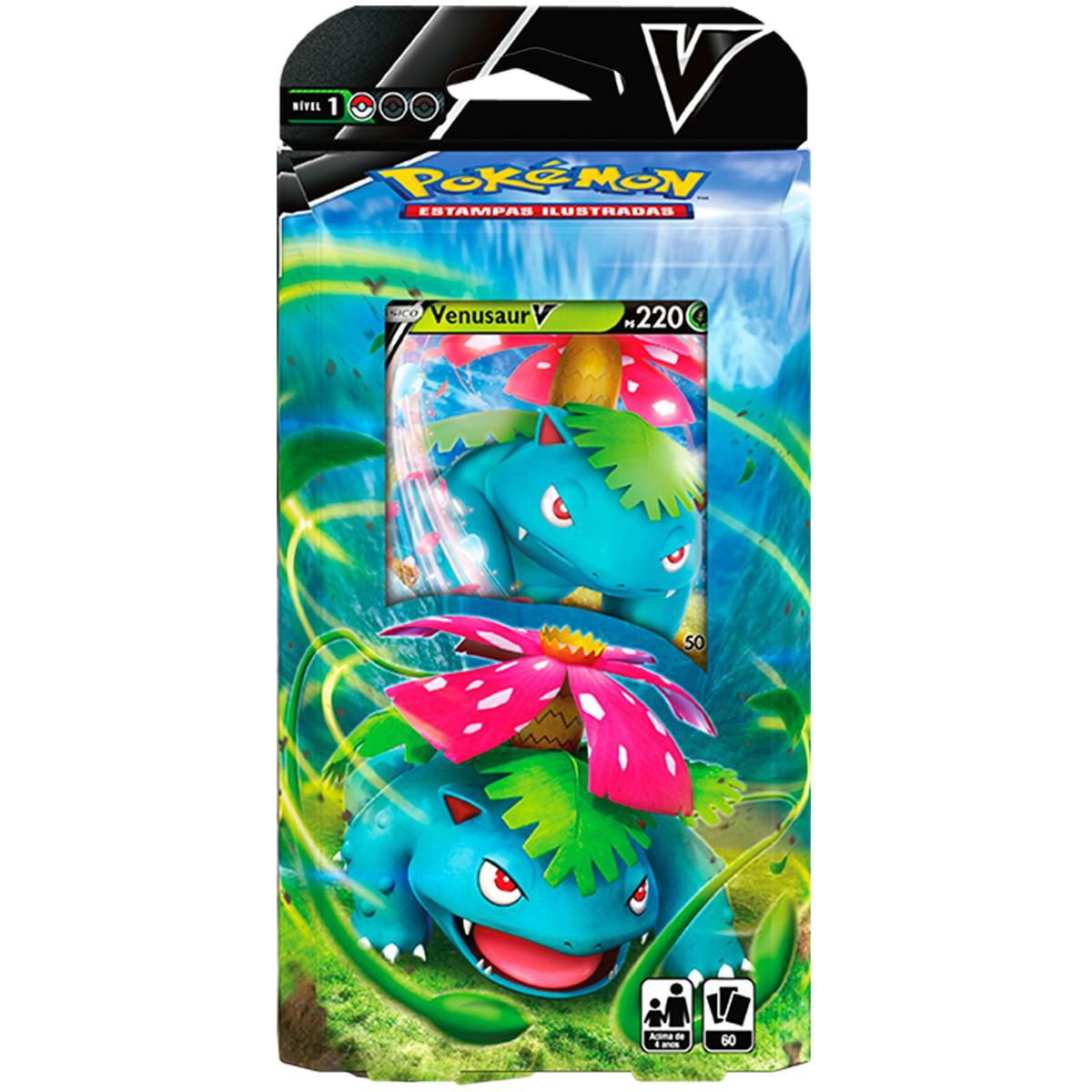 Baralho de Batalha V Deck Pokémon Venusaur V