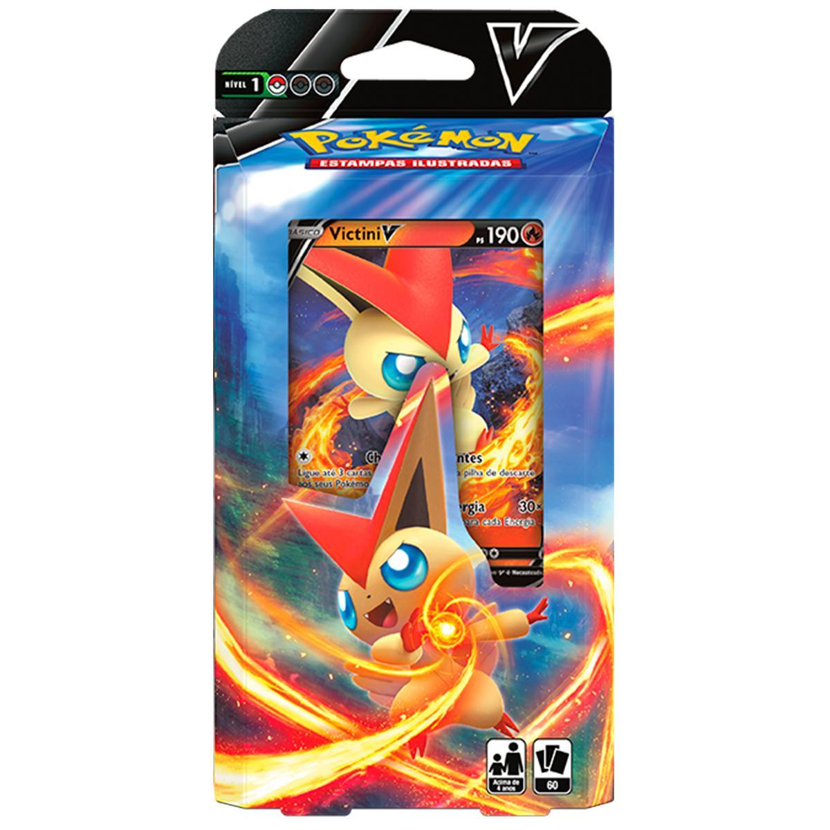 Baralho de Batalha V Deck Pokémon Victini V