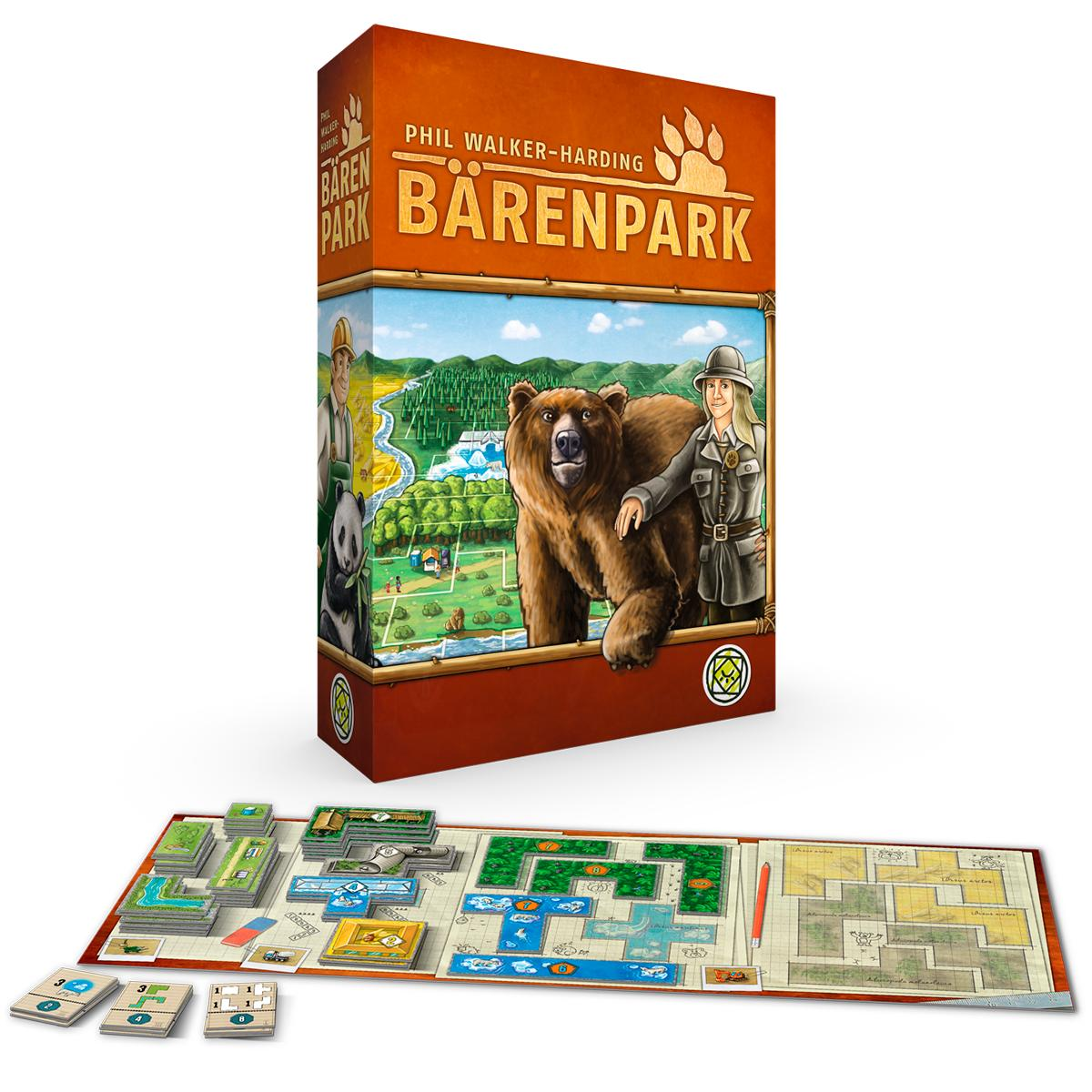 Barenpark Jogo de Tabuleiro