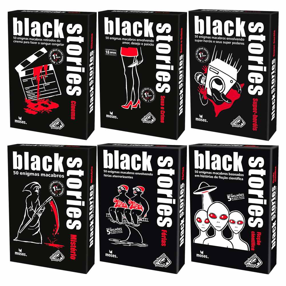 Black Stories Jogo de Cartas Galápagos