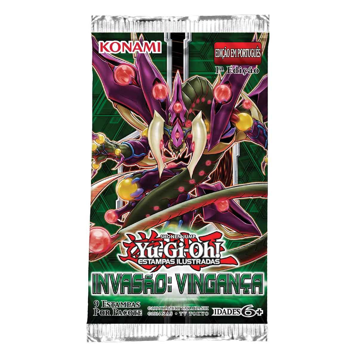 Yugioh Booster Invasão Vingança