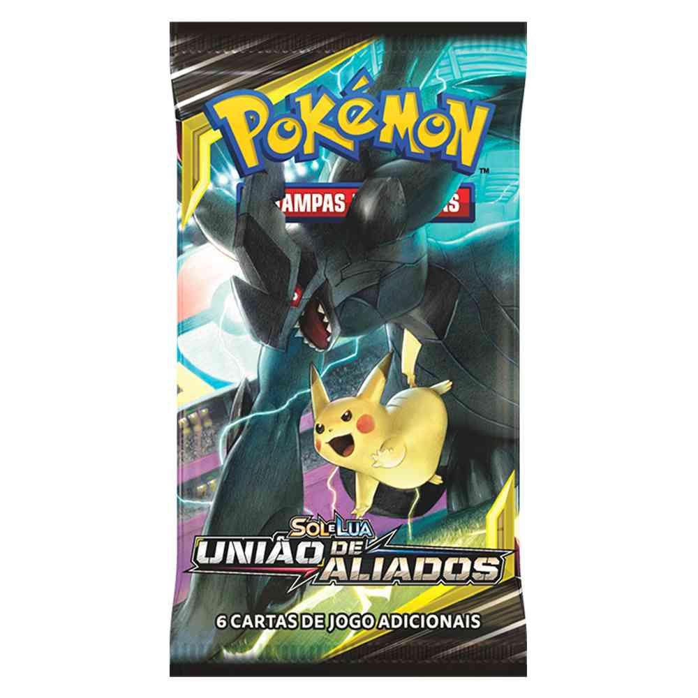 Box Display Pokemon Booster Sol e Lua 9 União de Aliados