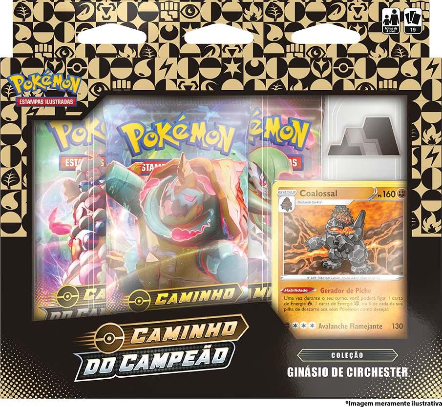 Box Pokemon Coalossal Caminho do Campeão