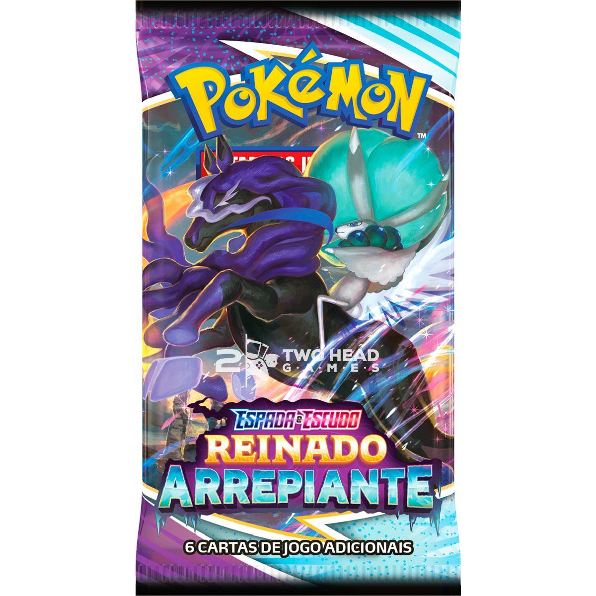 Box Pokémon Elite Treinador Avançado EE6 Reinado Calyrex Espectral