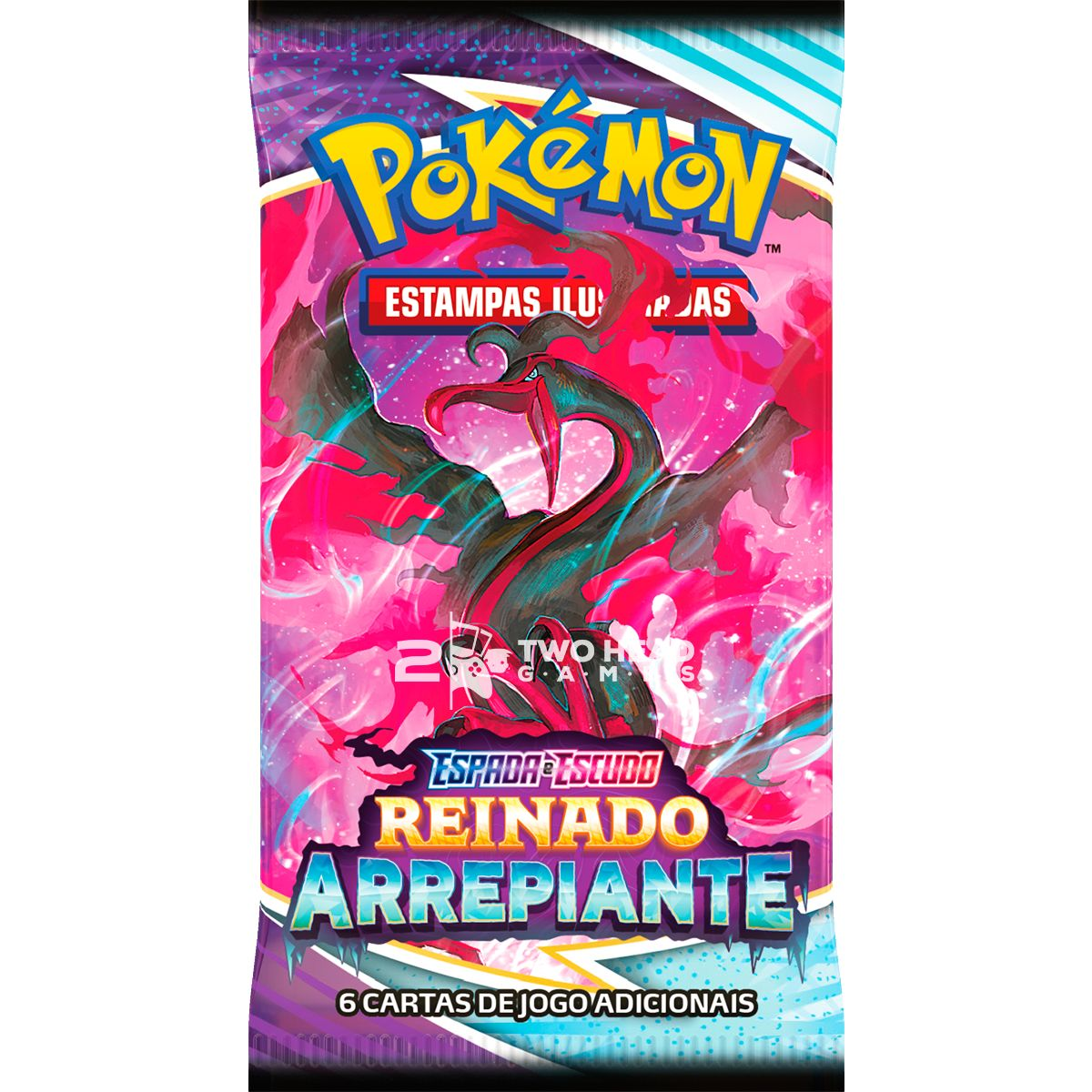 Box Pokémon Elite Treinador Avançado EE6 Reinado Calyrex Glacial