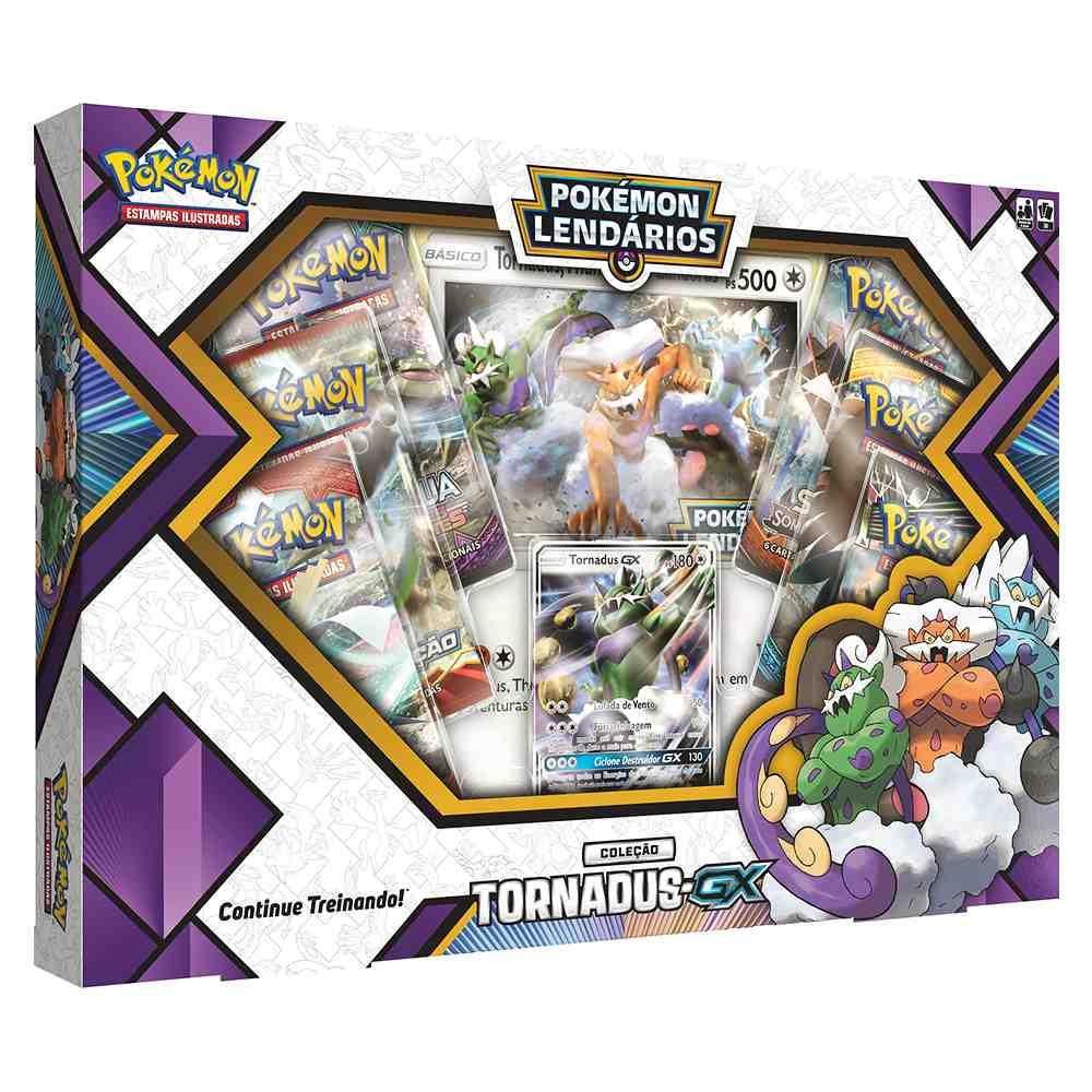 Box Pokemon Forças da Natureza Tornadus GX