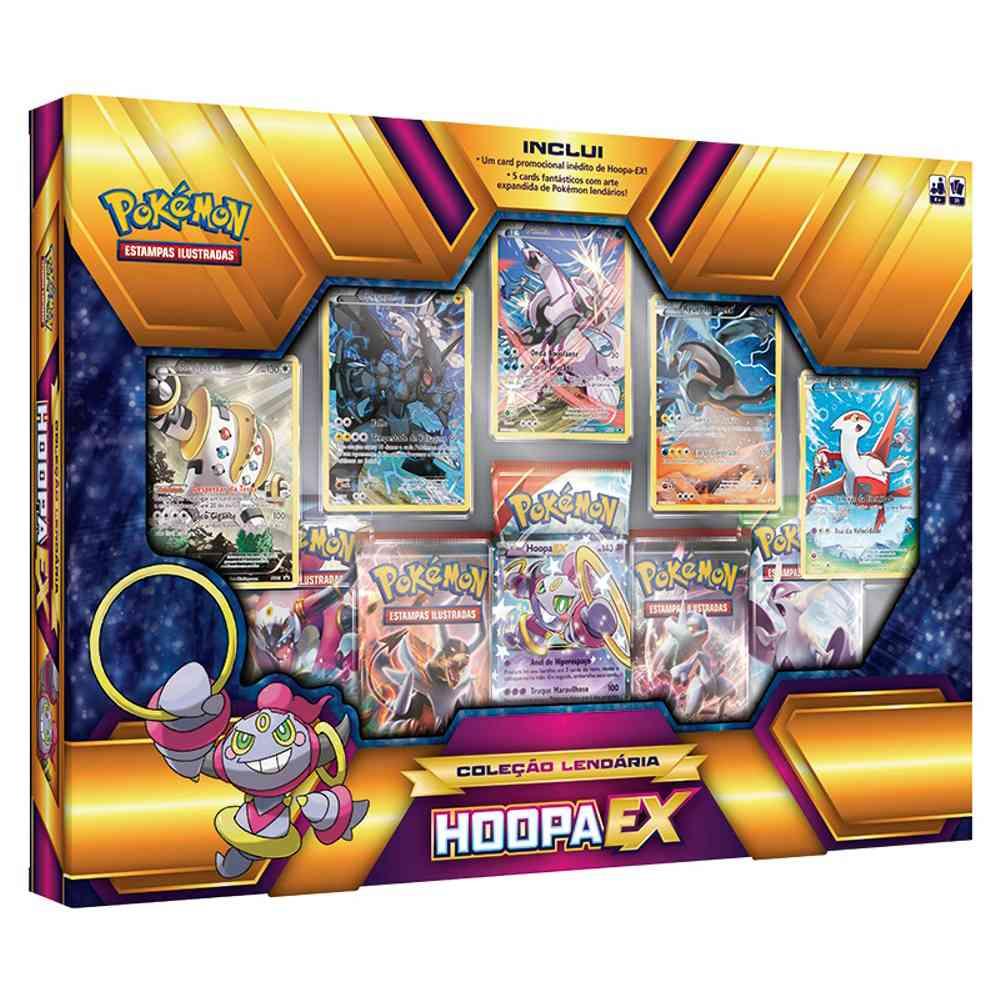 Box Pokemon Hoopa Ex Coleção Lendária