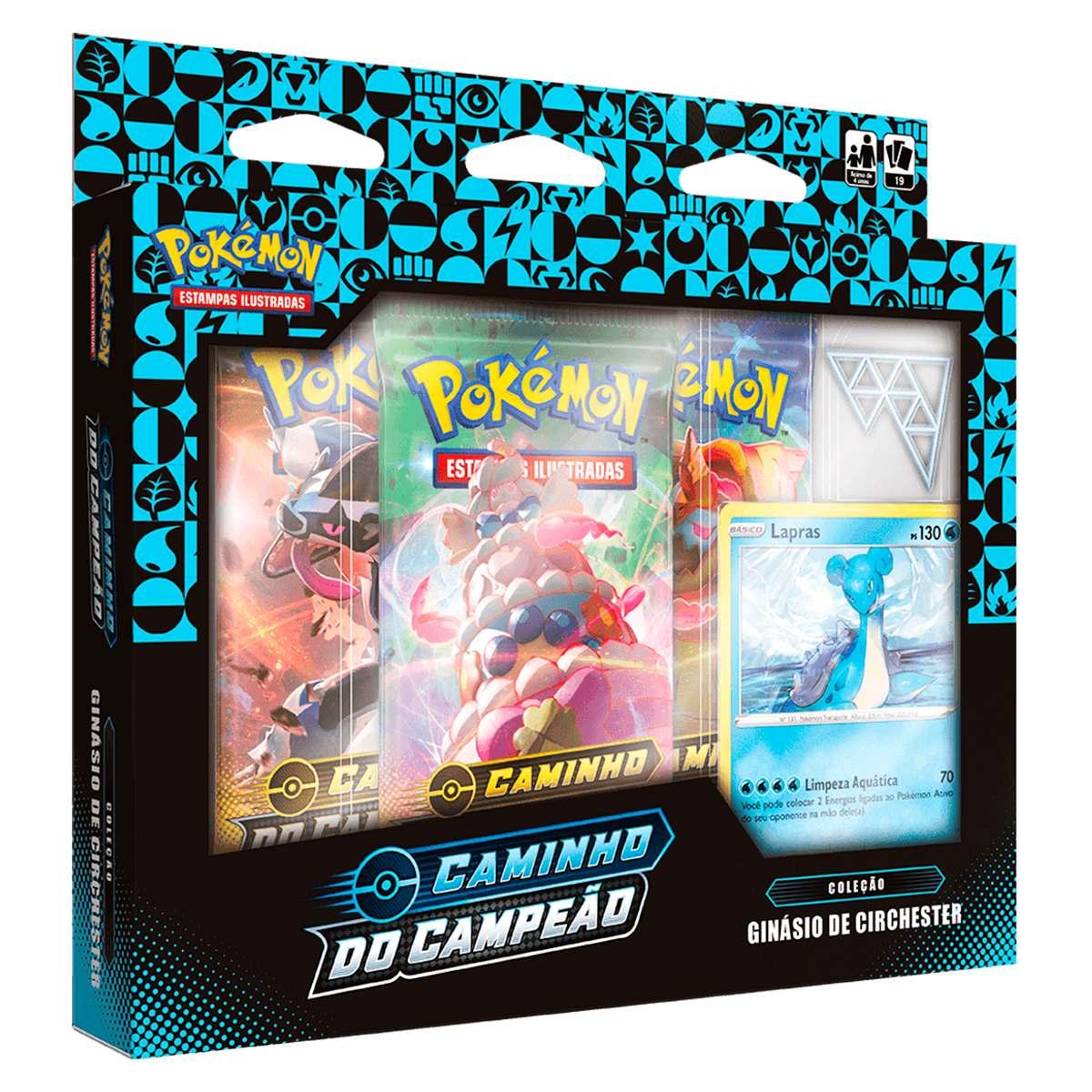 Box Pokemon Lapras Caminho do Campeão