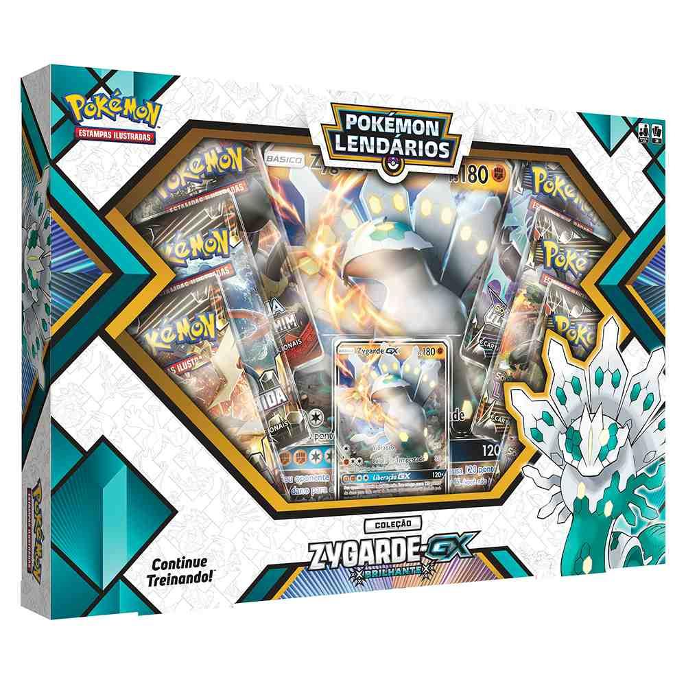 Box Pokemon Lendários Zygarde GX Brilhante