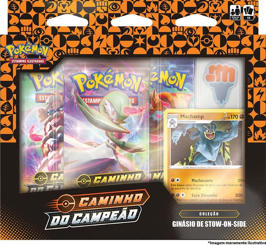 Box Pokemon Machamp Caminho do Campeão