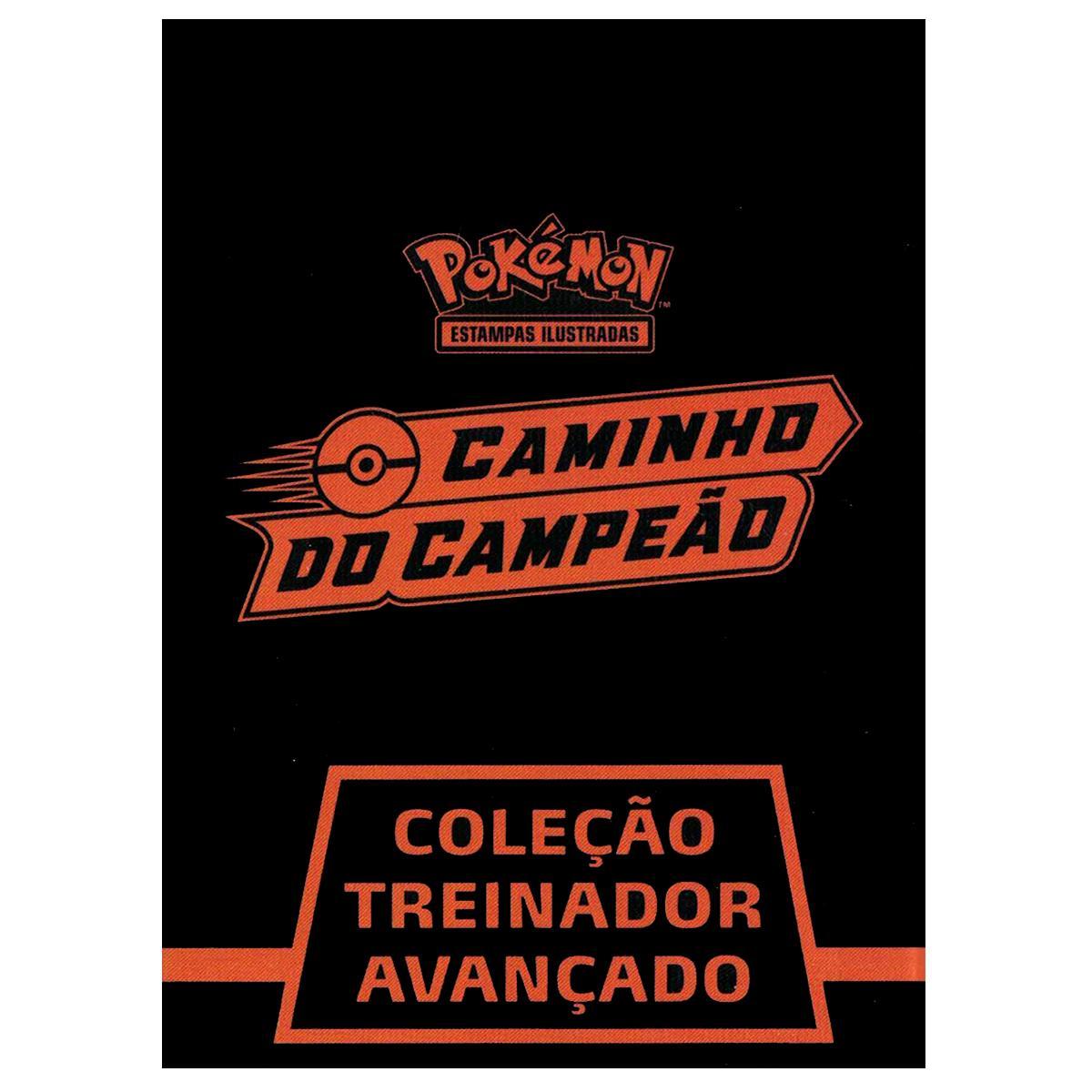 Box Pokémon Treinador Avançado Caminho do Campeão Elite Trainer