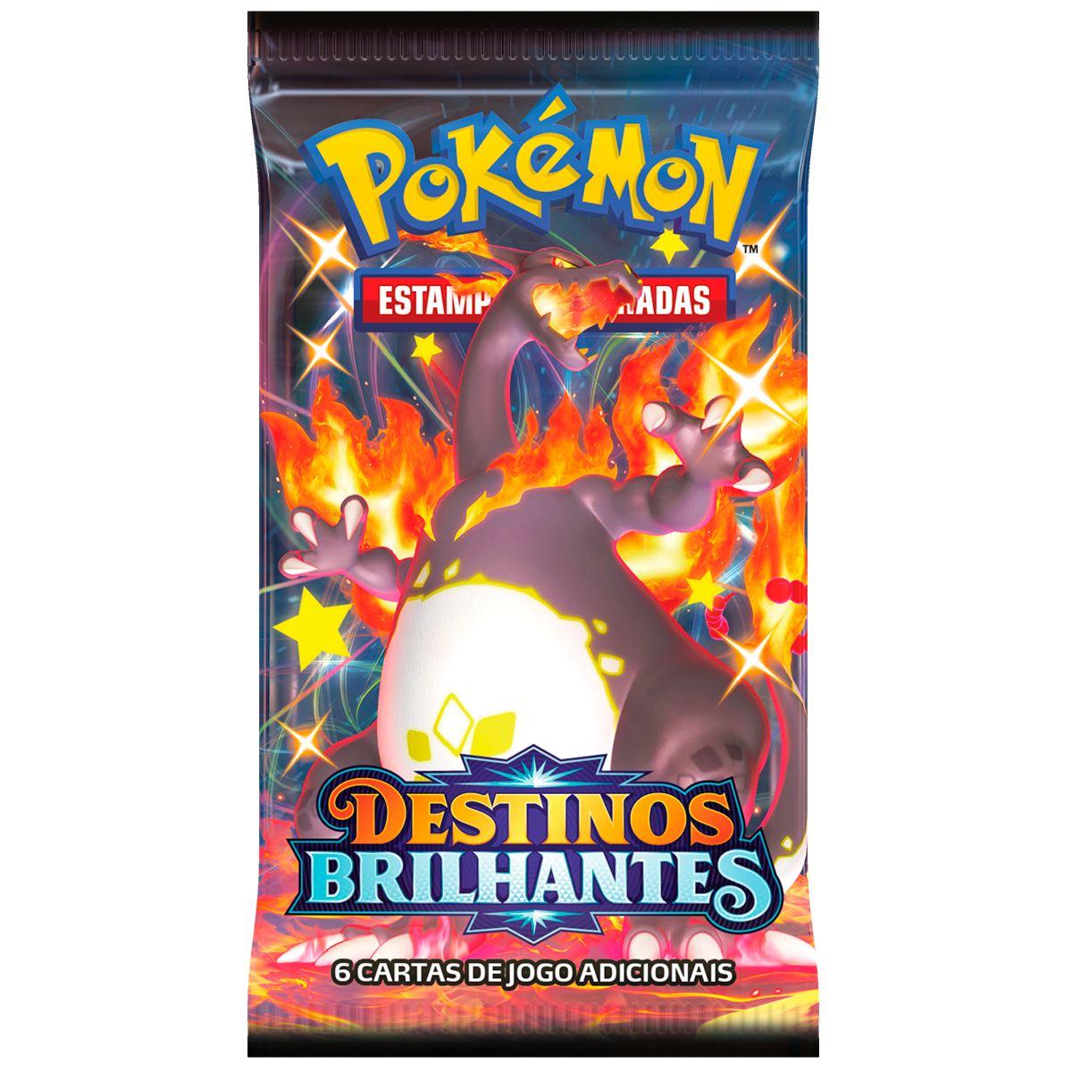 Box Pokémon Treinador Avançado Destinos Brilhantes - Elite Trainer