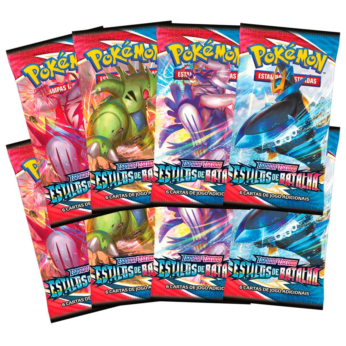 Box Pokémon Treinador Avançado Estilos de Batalha Golpe Fluido
