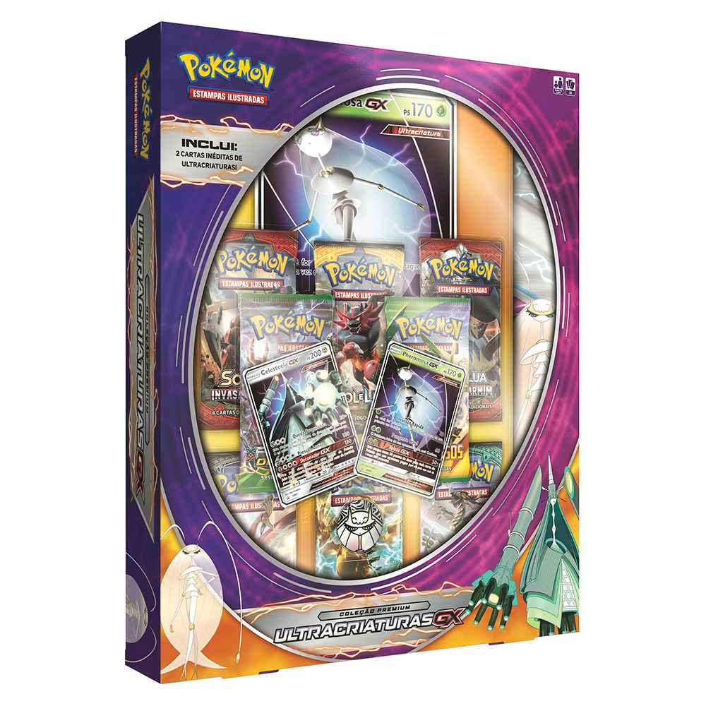 Box Pokemon Ultra Criaturas GX Pheromosa - Ultra Beasts