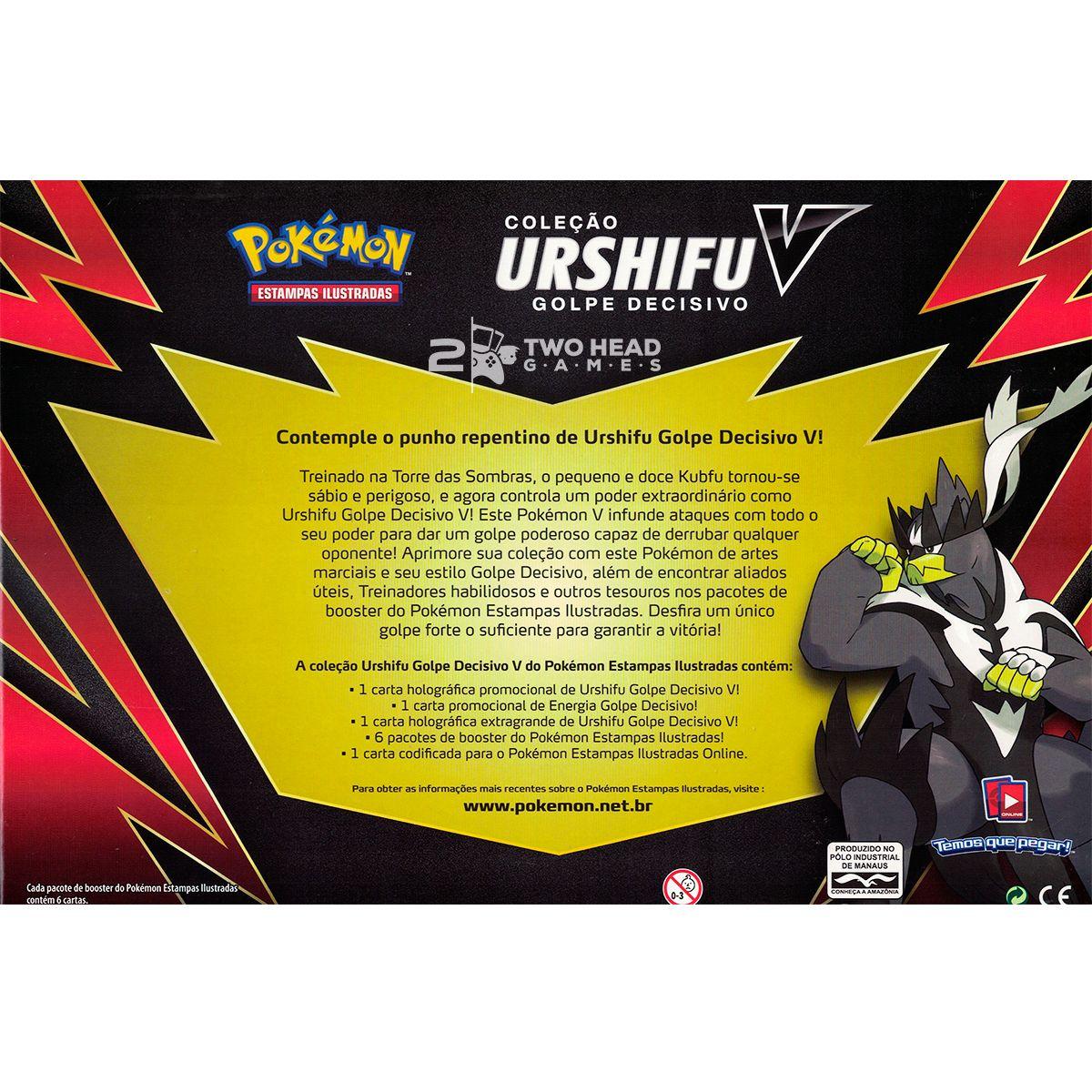 Box Pokémon Urshifu V Golpe Decisivo Espada Escudo