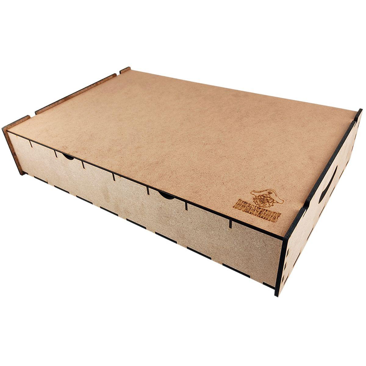 Caixa Organizadora Big Box para Card Games Vertical Bucaneiros