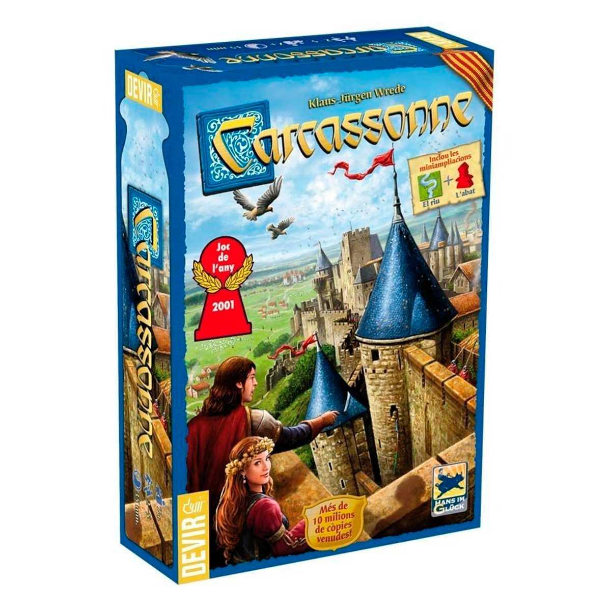 Carcassonne 2ª Edição 2 Mini Expansões Jogo Tabuleiro