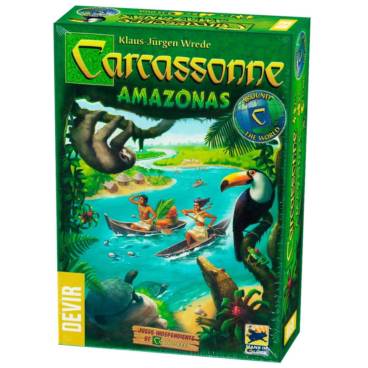 Carcassonne Amazonas Jogo de Tabuleiro Devir