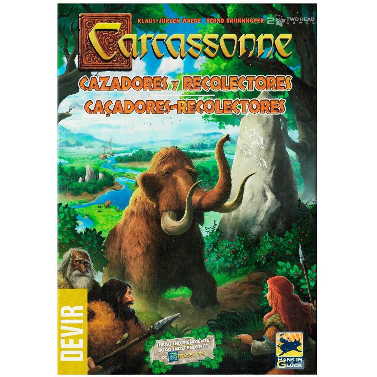 Carcassonne Caçadores e Coletores Jogo de Tabuleiro Devir