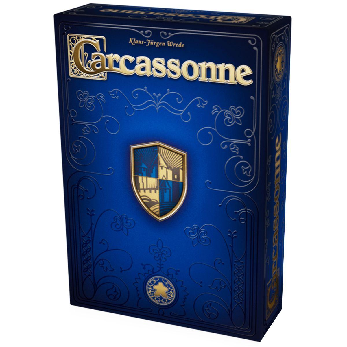 Carcassonne Edição 20º Aniversário Jogo de Tabuleiro Devir