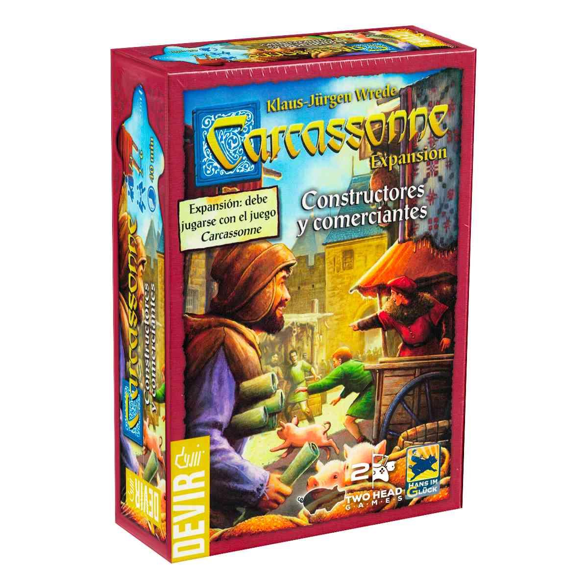 Carcassonne Expansão Construtores e Comerciantes
