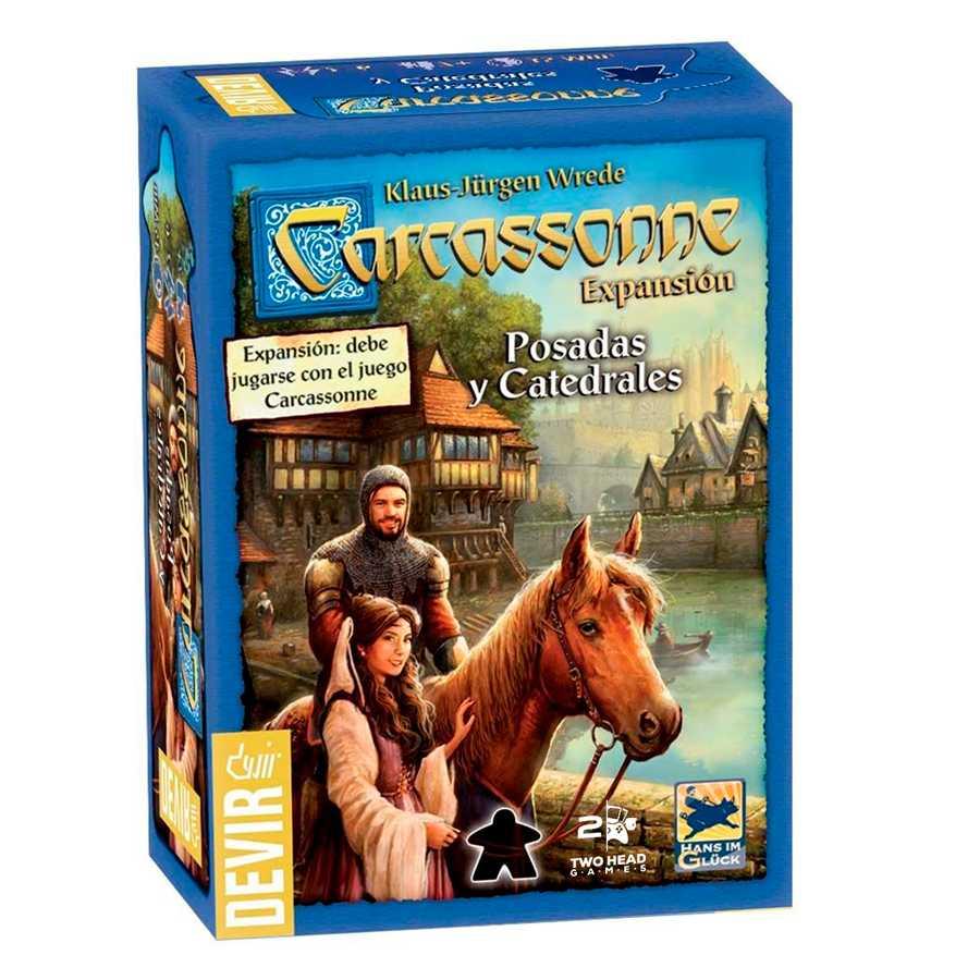 Carcassonne Expansão Pousadas e Catedrais 2 Edição