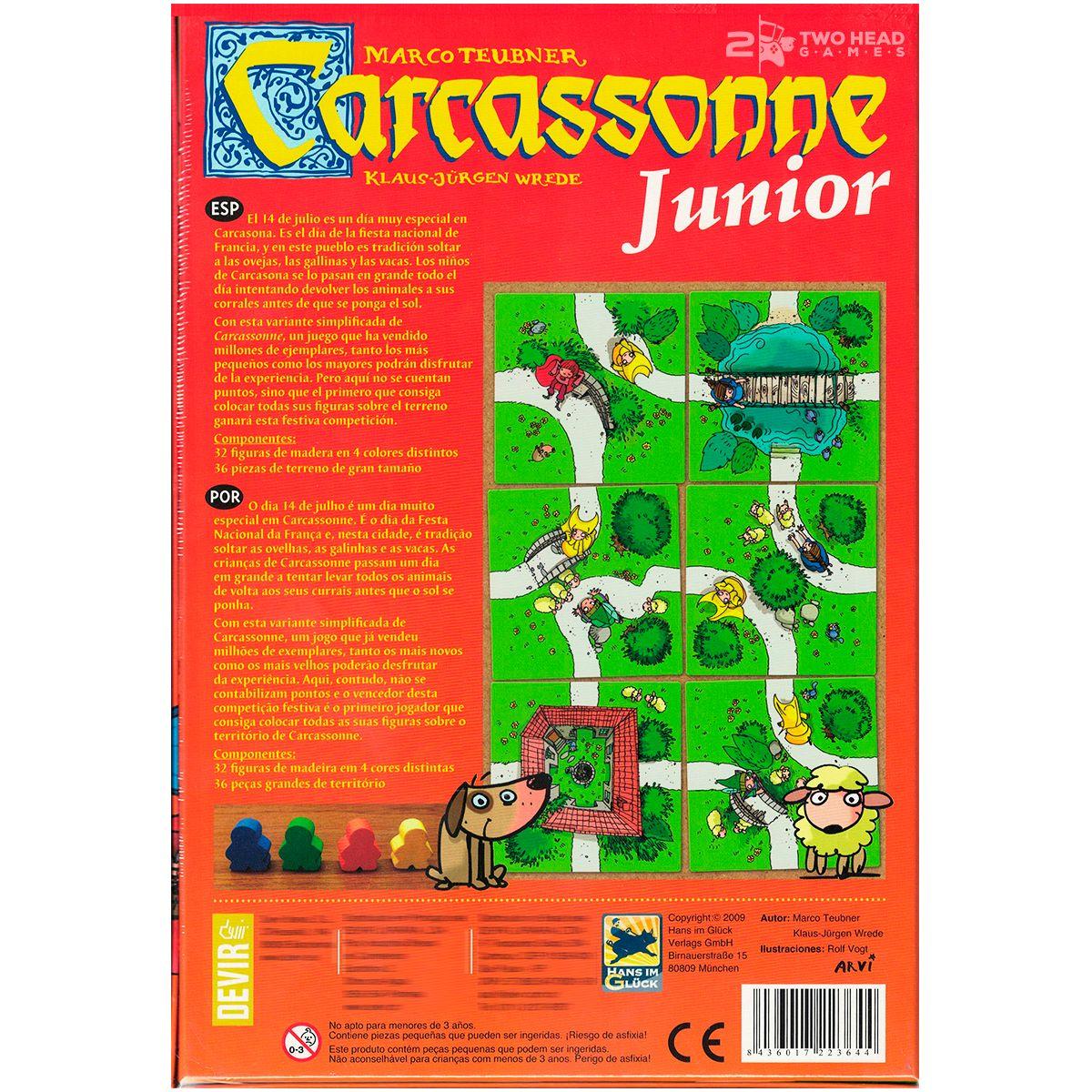 Carcassonne Junior Jogo de Tabuleiro Devir