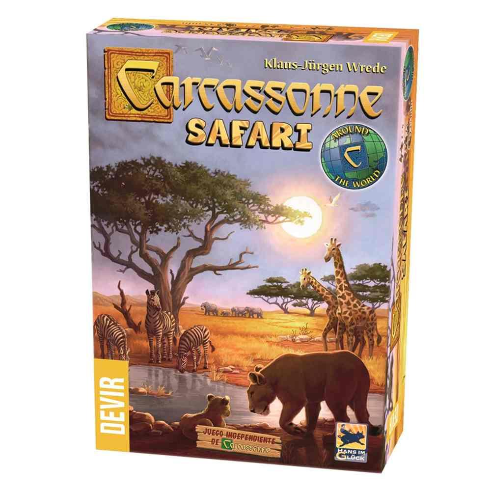 Carcassonne Safari Jogo de Tabuleiro