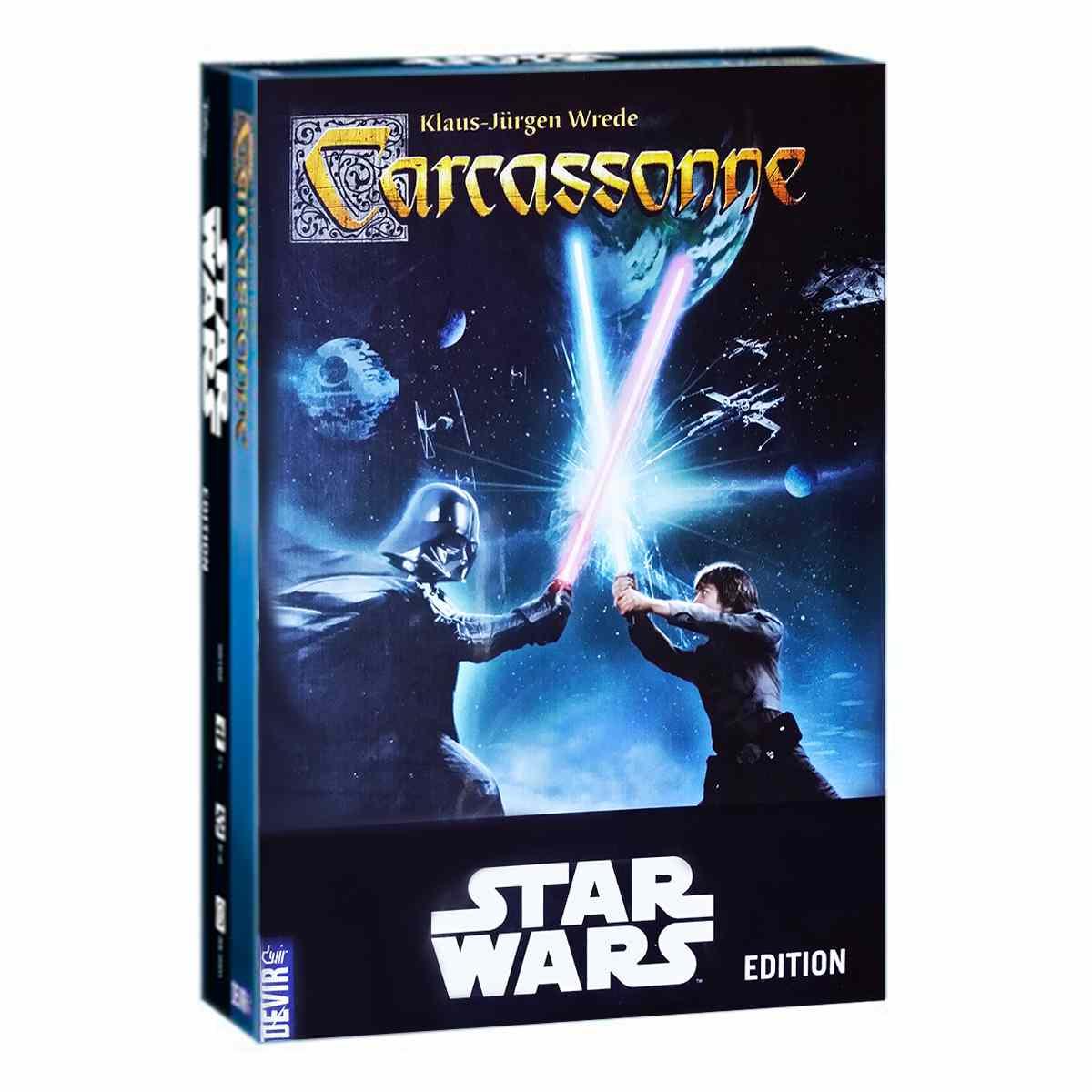 Carcassonne Star Wars Jogo De Tabuleiro Devir