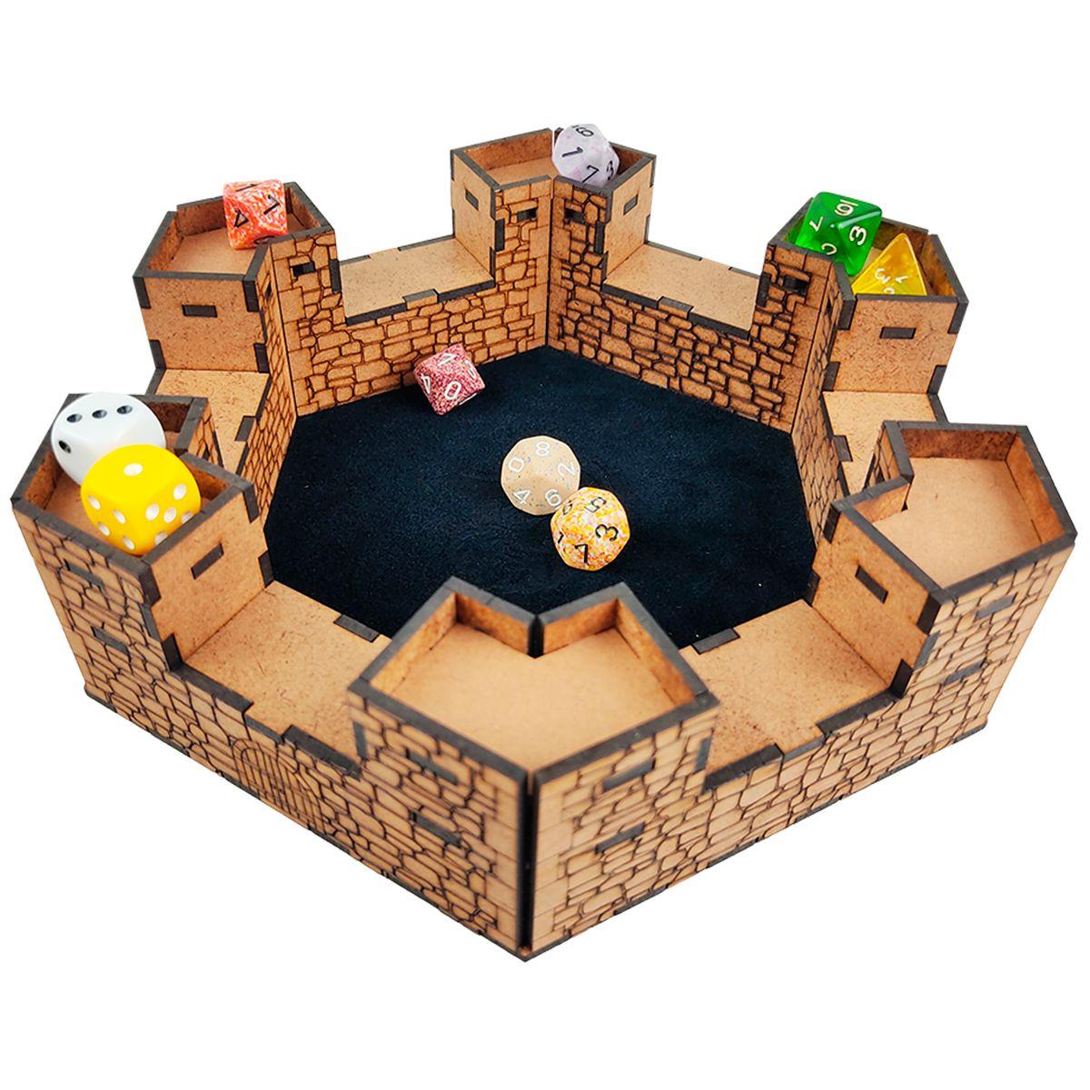 Castelo de Dados Premium RPG Bucaneiros