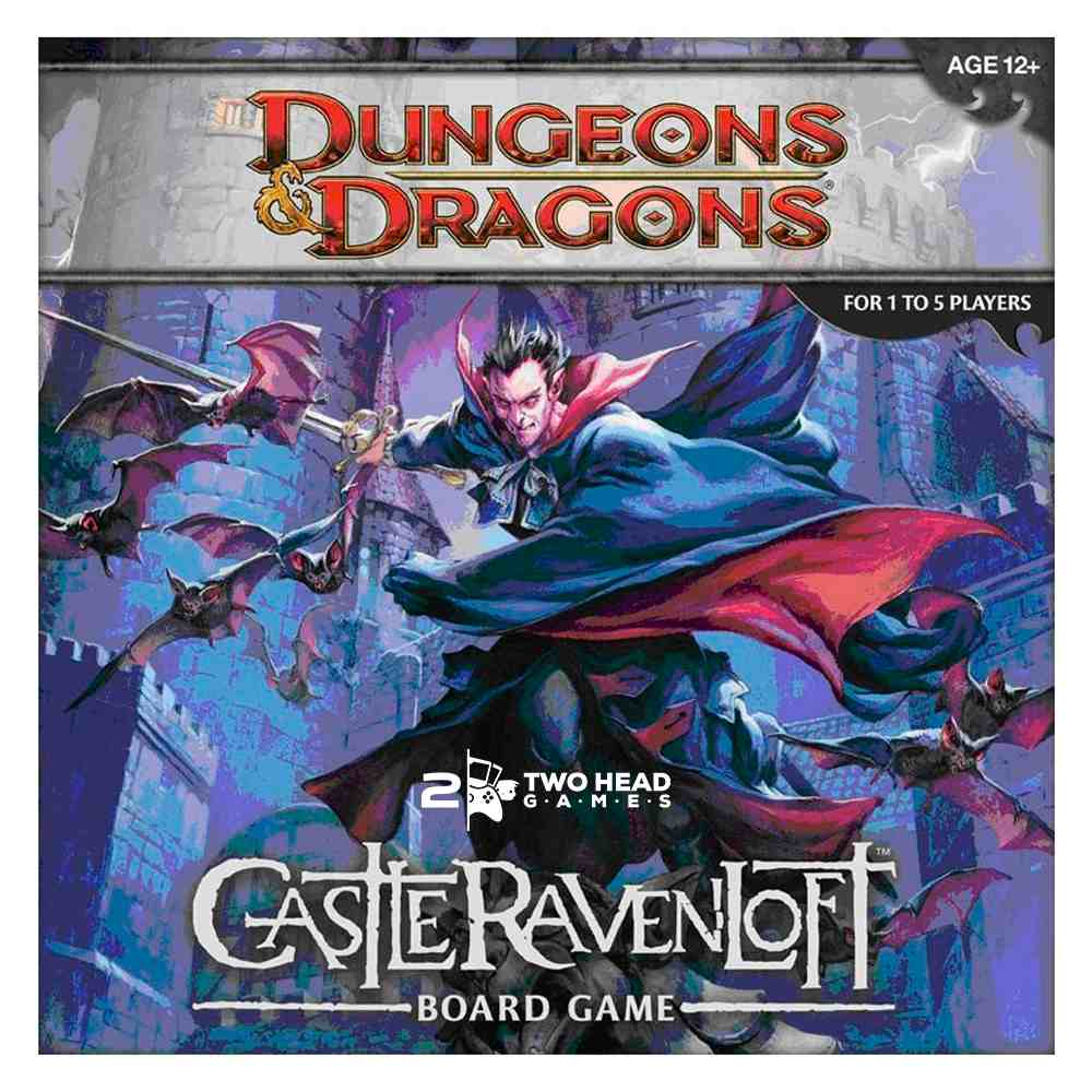 Castle Ravenloft Board Game Dungeons and Dragons Rpg Hasbro
