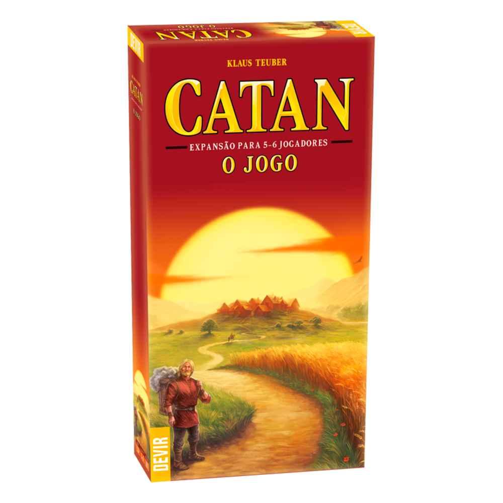 Catan Expansão para 5 e 6 Jogadores - O Jogo