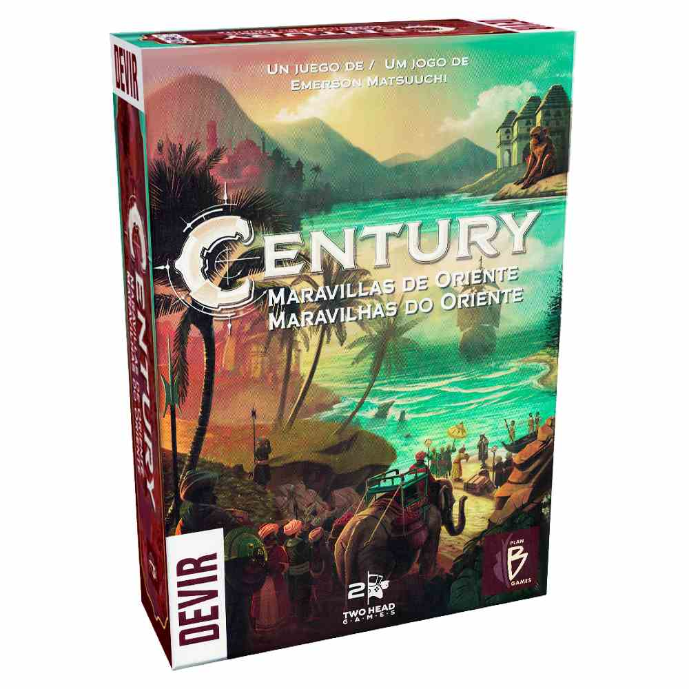 Century 2 Maravilhas do Oriente Jogo de Tabuleiro