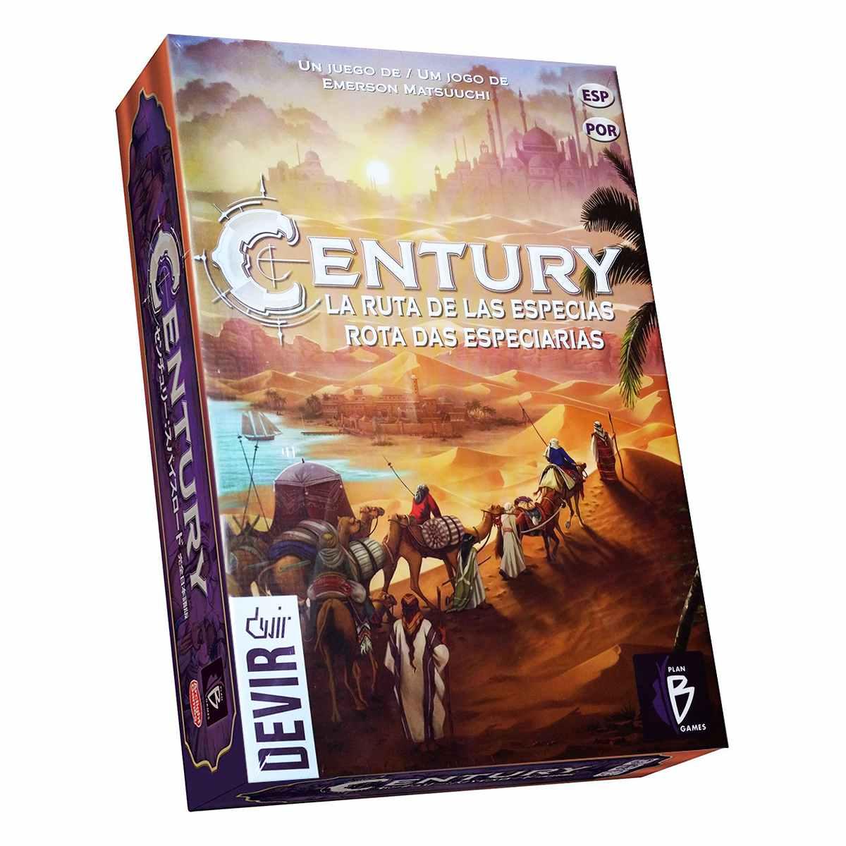 Century Rota das Especiarias Jogo de Tabuleiro