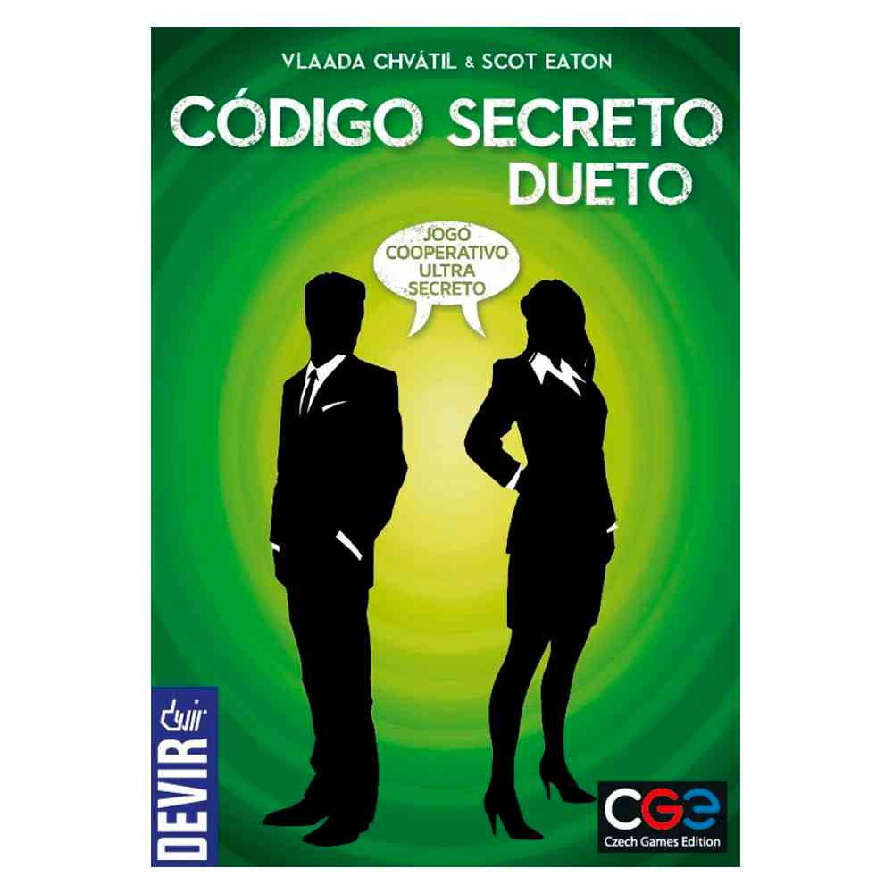 Código Secreto Dueto Jogo de Tabuleiro Devir