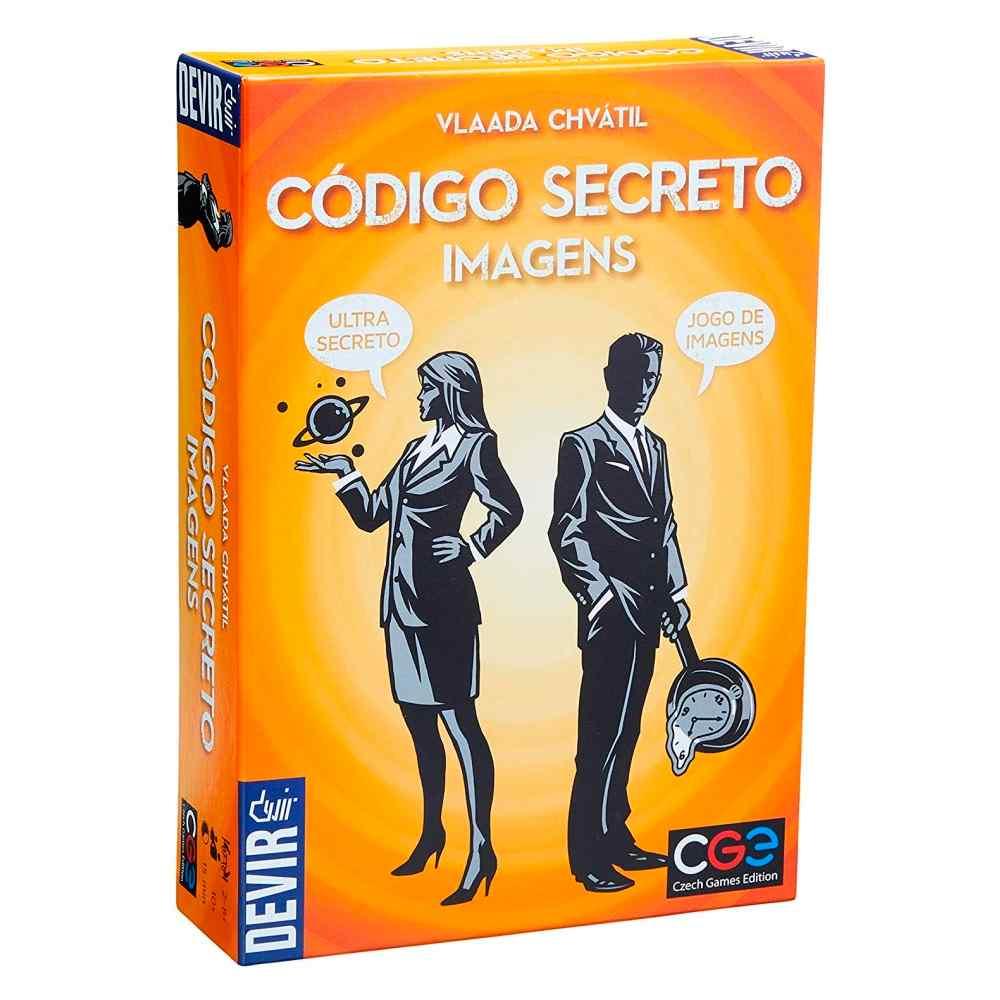 Código Secreto Imagens Jogo de Tabuleiro Devir