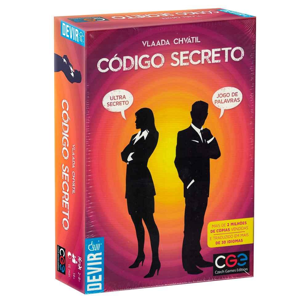 Código Secreto Jogo de Tabuleiro Devir
