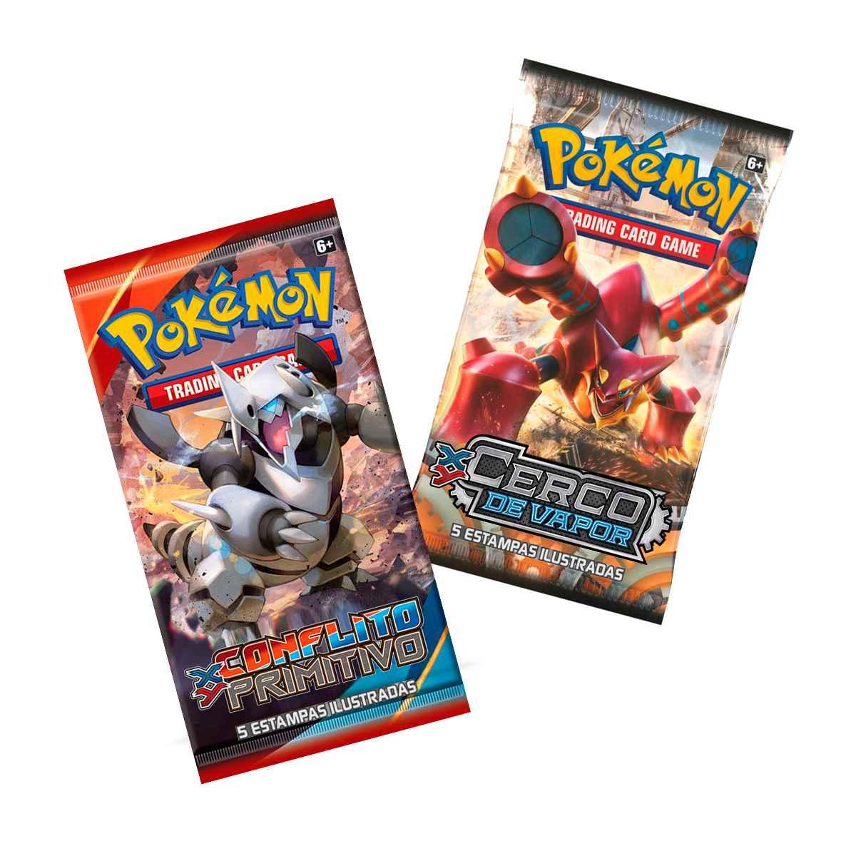 Pokémon Lata Porta Card Volcanion Treinador Elite