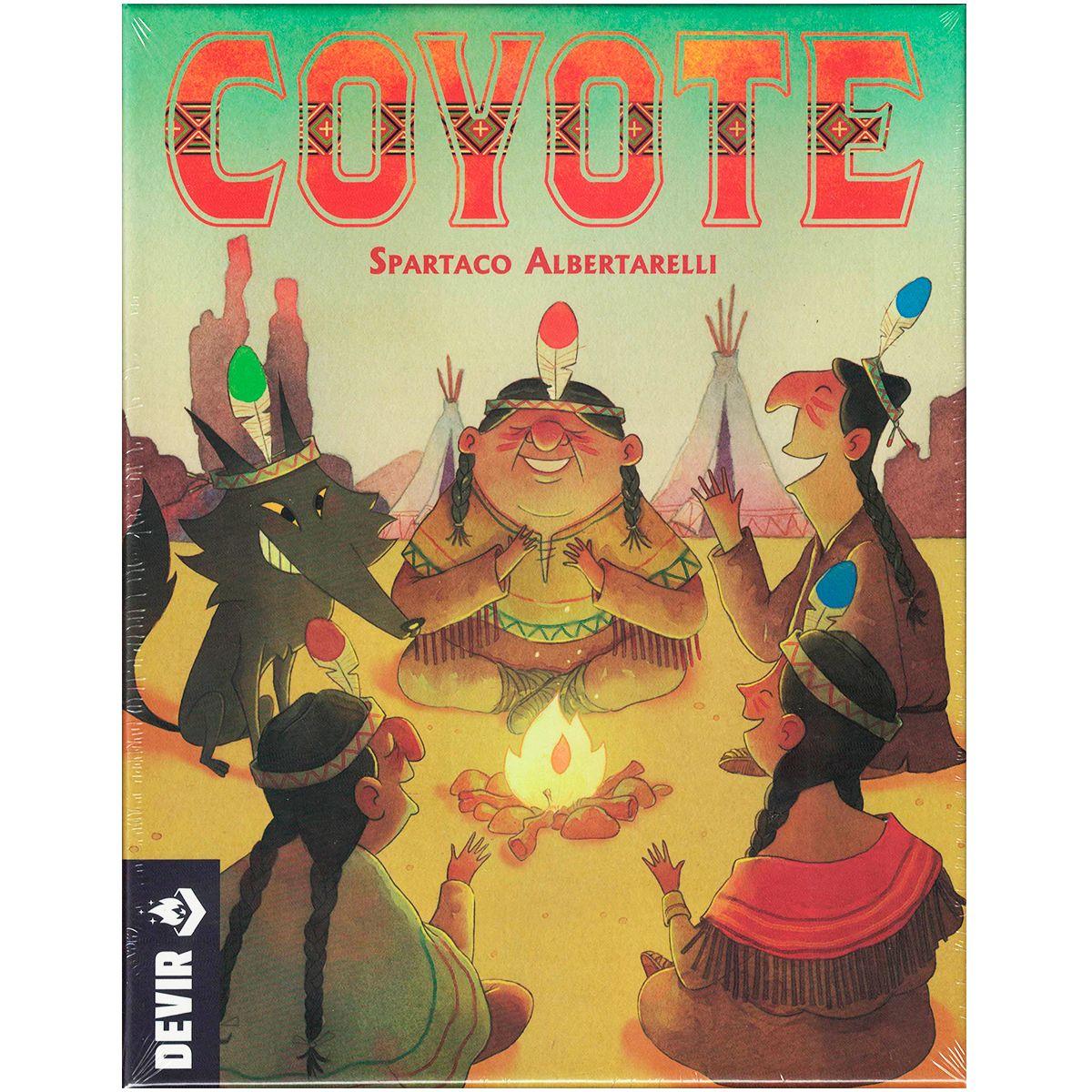 Coyote Jogo de Tabuleiro Devir